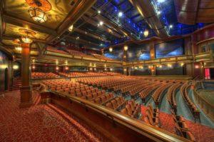 Salle de theatre moderne